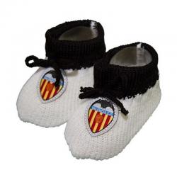 Patucos para bebé del Valencia C.F.
