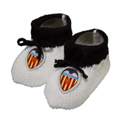 Valencia C.F. Baby socks.