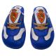 Zapatillas de estar por casa del Real Zaragoza.