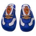 Chaussons Real Zaragoza.
