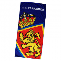 Real Zaragoza Beach towel.
