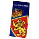 Real Zaragoza Beach towel.