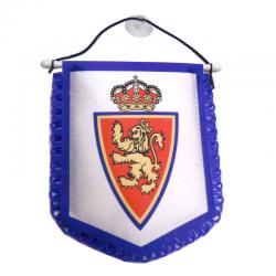 Banderin para el coche del Real Zaragoza.