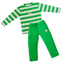 Pyjama adultes Real Betis manches longues.