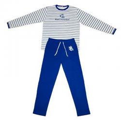 Pijama de manga larga para adulto de la Real Sociedad.