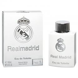 Agua de colonia del Real Madrid.