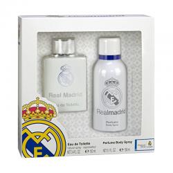 Eau de Toilette et eau fraíche parfumée Real Madrid.