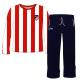 Pijama de niño de manga larga del Atlético de Madrid.