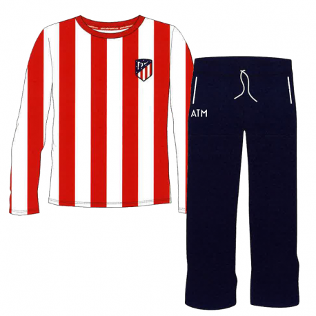 Pyjama junior Atlético de Madrid manches longues.
