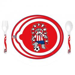 Atlético de Madrid Infant 3 piece Tableware.