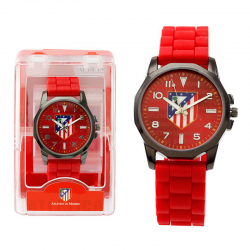 Reloj pulsera cadete del Atlético de Madrid.