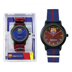F.C.Barcelona Kids wristwatch.