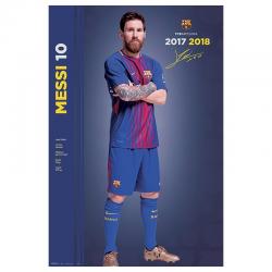 Poster de Messi del F.C.Barcelona.