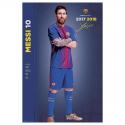 Affiche Messi F.C.Barcelona.