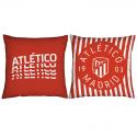 Cojín de tela del Atlético de Madrid.