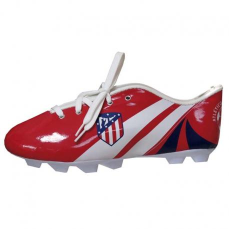 Estuche portatodo bota del Atlético de Madrid.