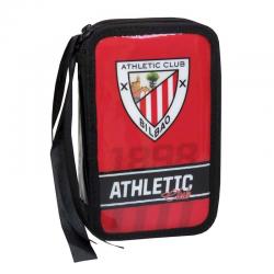Petite trousse double Athletic de Bilbao.