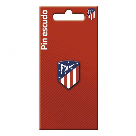 Pin de metal del Atletico de Madrid.