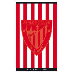 Toalla de playa del Athletic de Bilbao.