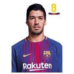 Carte postale L. Suarez F.C.Barcelona.