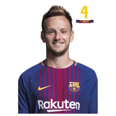 F.C.Barcelona Postal Rakitic.