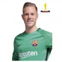 Carte postale Ter Stegen F.C.Barcelona.