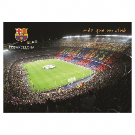 Postal del Camp Nou del F.C.Barcelona.