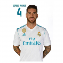 Carte postale Sergio Ramos Real Madrid.