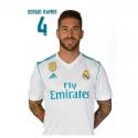 Postal de Sergio Ramos del Real Madrid.