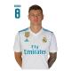 Postal de Kroos del Real Madrid.