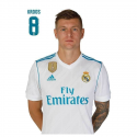 Carte postale Kroos Real Madrid.