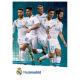 Carte postale équipe Real Madrid.