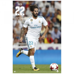 Poster de Isco del Real Madrid.