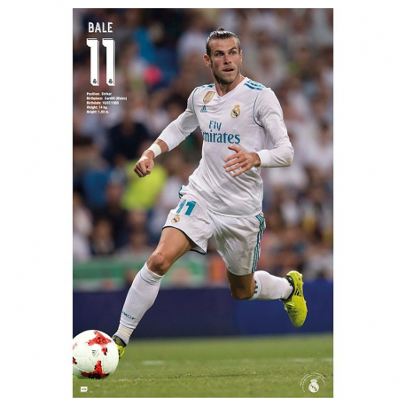 Real Madrid Poster Bale.
