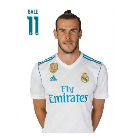 Carte postale Bale Real Madrid.