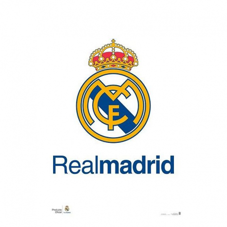 Real Madrid Poster Crest.