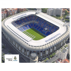 Affiche Santiago Bernabeu Real Madrid.