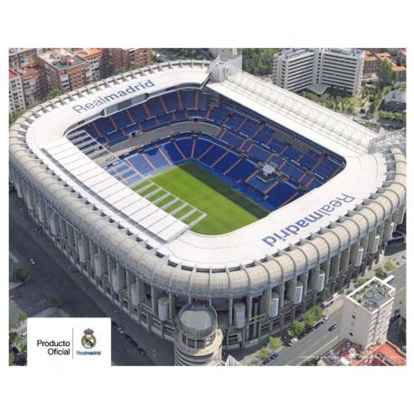 Poster del Santiago Bernabeu del Real Madrid.