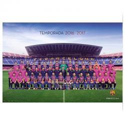 Affiche équipe F.C.Barcelona.