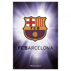 Affiche logo F.C.Barcelona.