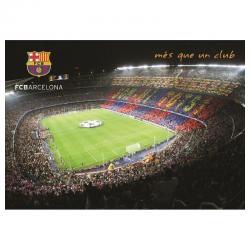 Poster del Camp Nou del F.C.Barcelona.