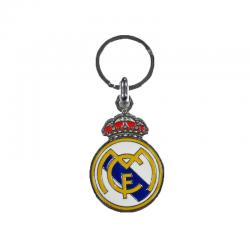 Real Madrid metal keyring.