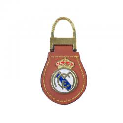 Llavero de cuero del Real Madrid.