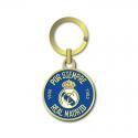 Real Madrid keyring.