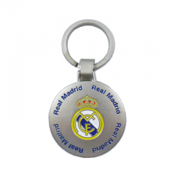 Real Madrid keyring.