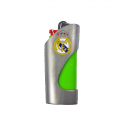 Funda de mechero del Real Madrid.