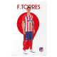 Atlético de Madrid Poster F.Torres.