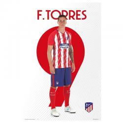 Affiche F.Torres Atlético de Madrid.