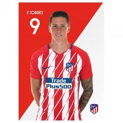 Carte postale F.Torres Atlético de Madrid.