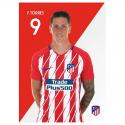 Postal de F.Torres del Atlético de Madrid.